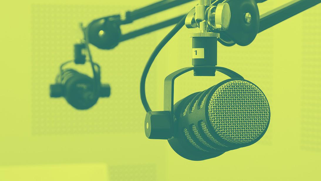Podcast Aufnahme Studio